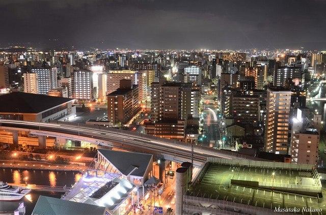 Fukuoka night view