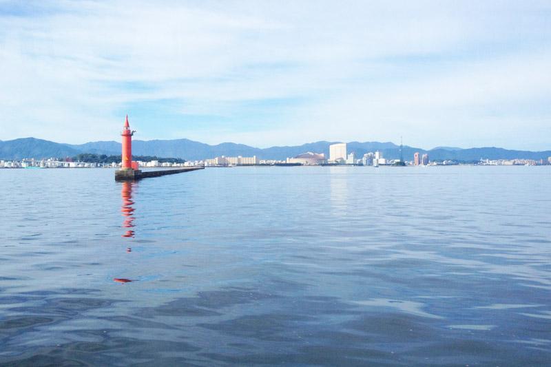 Pelabuhan Hakata di Kota Fukuoka
