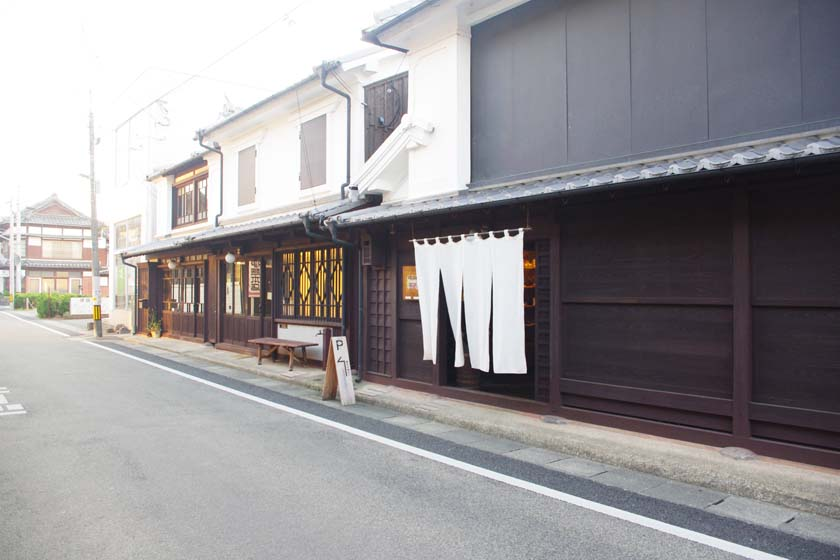 The Unagino Nedoko is a select store in Yame City that sells many traditional handicrafts.